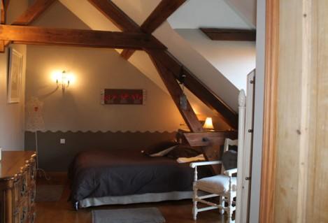 Chambre 3 avec baignoire Balnéo